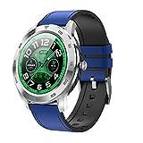 DT98 1.3 pollici in pelle dello schermo di colore del cinturino di Smart Watch, supporto chiamata di promemoria/Monitoraggio della frequenza cardiaca di controllo pressione/Blood/sleep Monitorag