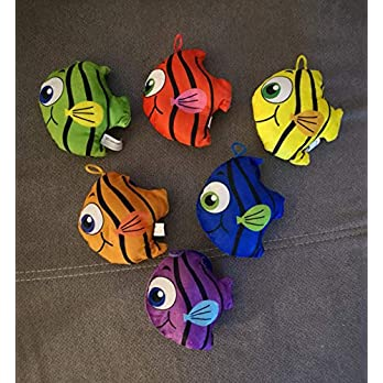 Plüsch Fisch als Anhänger