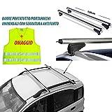 Rebeca Shop - Barre universali portapacchi per auto 120cm con barre...