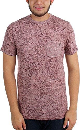 Volcom Männer verschanzen T-Shirt Burnt Sienna