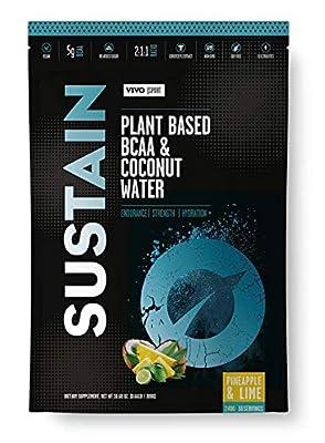 Sustain Plant Based BCAA & Coconut Water Powder by Vivostore Ltd