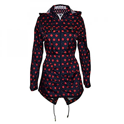 Women's Designer Brave Soul Festival Rain Mac Trench Waterproof Lightweight Coat by Brave Soul