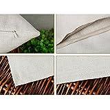 Amybria Home Platz Sofa Dekokissen Fall Leinen Baumwoll Dekorative Kissenbezug 6 Eulen - 2