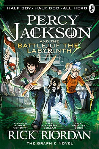 Percy Jacson and the battle of the labyrinth : the graphic novel