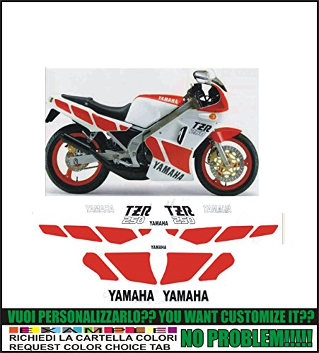 Kit adesivi decal stikers YAMAHA TZR 250 1985 (ability to customize the colors)