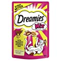 Dreamies Mix Cat Treats Beef and Cheese, 60 g