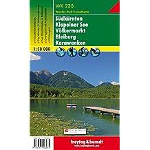 WK 238, Südkärnten - Klopeiner See - Völkermarkt - Bleiburg - Karawanken, Wanderkarte 1:50.000, freytag & berndt Wander-Rad-Freizeitkarten