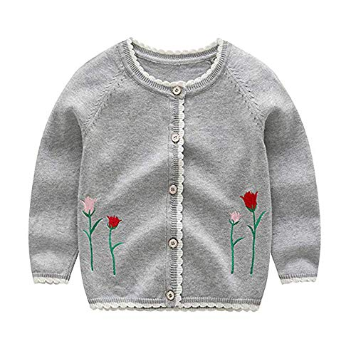 Kinder Baby Mantel Baby Mädchen Pullover Strickjacke Cartoon Dinosaurier Print Strickjacke