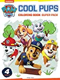 Paw Patrol Cool Pups Coloring Books Super Boxset : Pack of 4 Coloring Books For Kids