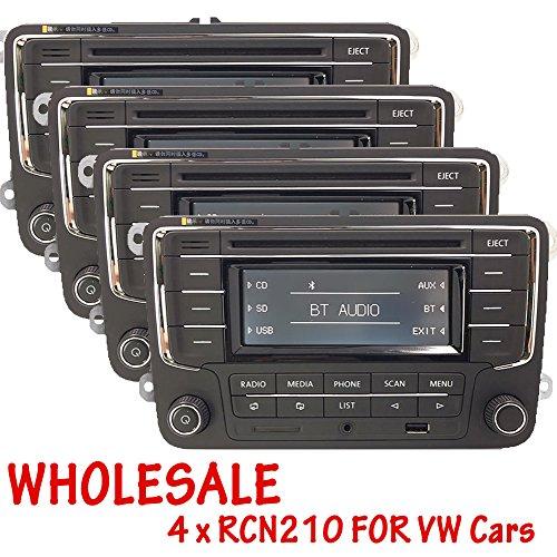 OEM Großhandel von 4Auto Stereo-Radio rcn210mit Bluetooth CD-Player USB AUX SD MP3Für VW Golf Touran Tiguan Jetta Passat Polo