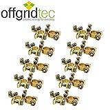 10er Set Offgridtec® Batteriepolklemmen Set Plus und Minus