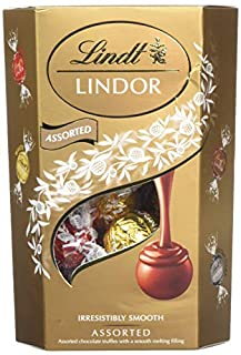 Lindt Lindor Assorted Chocolate Cornet 200 g (Pack of 2) (B000L423IM) | Amazon price tracker / tracking, Amazon price history charts, Amazon price watches, Amazon price drop alerts