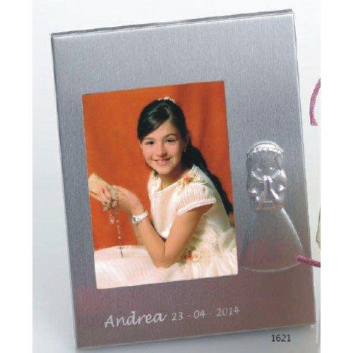 Portafotos PERSONALIZADOS para comunión de niña marcos GRABADOS (pack 15 unidades)
