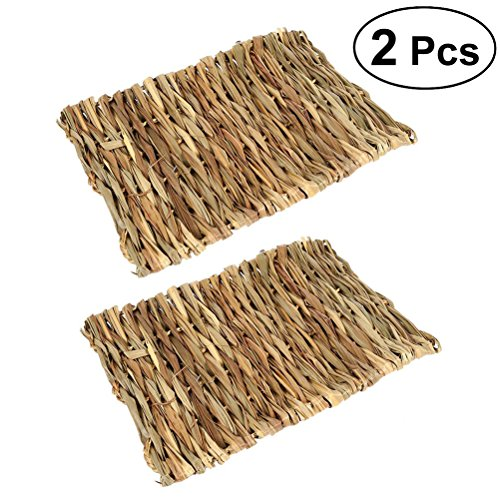 UKCOCO 2pcs Pet Matte Gras-Matten für essbare mit Käfige Größe Kauen Spielzeug für Haustiere, 40x 28cm