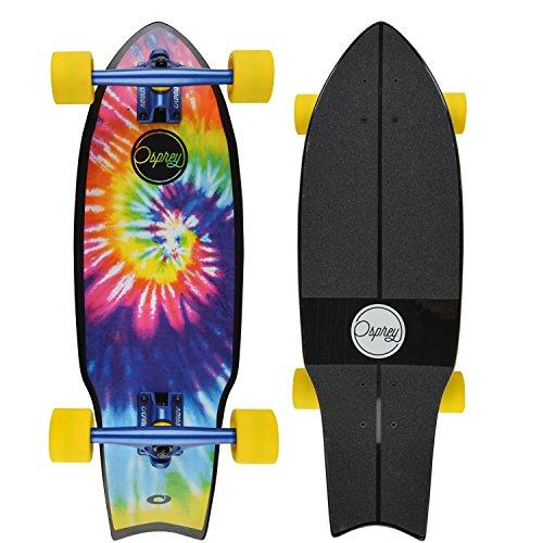 Osprey Jefferson Skateboard Mixte Adulte, Multicolore, 68,6 cm