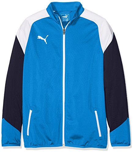 Puma Kinder Esito 4 Poly Tricot Jacket Jacke, royal White New Navy, 164
