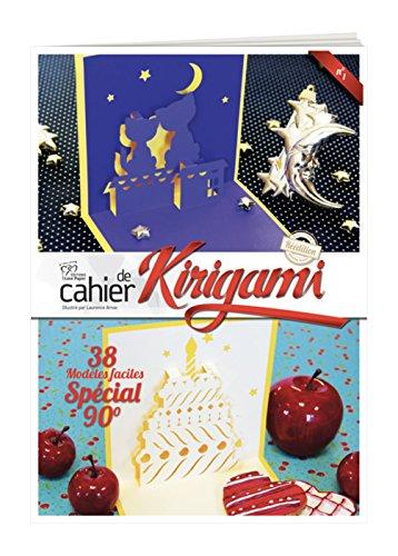 Cahier de Kirigami n°1 - 38 modèles faciles - spécial 90°