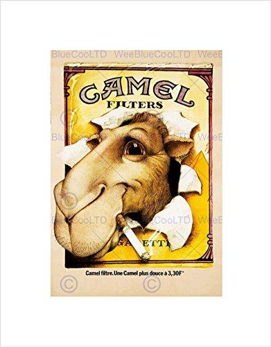 camel-advert-cigarettes-1976-home-deco-black-framed-art-print-picture-b12x6951