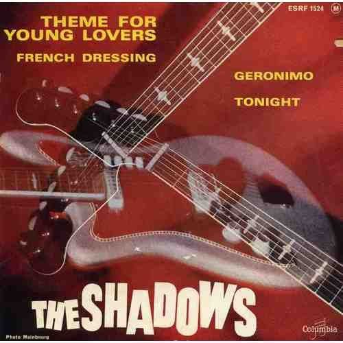 Iv-dressing (THEME FOR YOUNG LOVERS/FRENCH DRESSING/GERONIMO/TONIGHT. CD EP 4 TITRES THE SHADOWS.RARE)