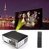 Flylinktech® RD-806 HD LED Proiettore Home Theater con HDMI / USB / AV / VGA / Component risoluzione 1280x800 1500: 1 2800 lumen Videogiochi Gaming commerciali Presentazioni