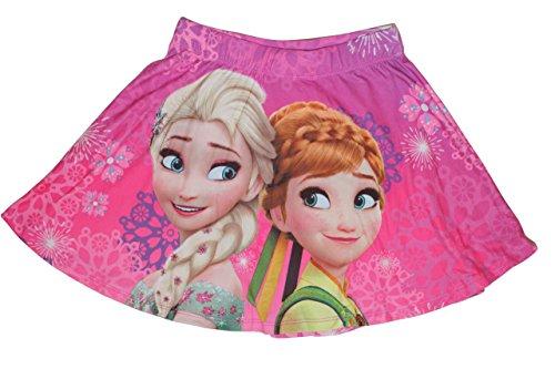 Disney Frozen Die Eiskönigin Mädchen Rock (110, Pink (Tutu Frozen Elsa)