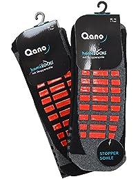 Qano home 4060-5 2er Pack Herren ABS Stopper Socken verschiedene Farben