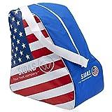 Sidas Flag Boot Bags–Borsa per scarponi da sci, colore bandiera, unisex, Flag Boot Bag USA, multicolore