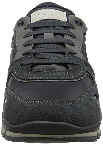 Geox Herren U Sandford B Abx A Sneaker Grau (antracite)