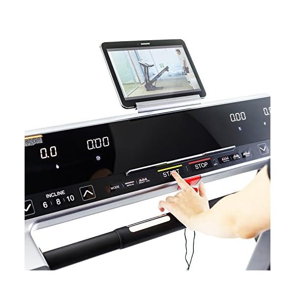 TechFit Nova 3.0 Tapis roulant Elettrico Pieghevole Macchina da Corsa, 3.0 HP, 140 x 51 cm Spazio Corsa, Display LED… 3 spesavip