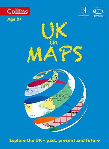 UK in Maps (Collins Primary Atlases) por Stephen Scoffham