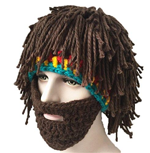 Mütze Mützen Cap Wintermütze Beanie Unterhaltsam Maskeraden Perücke