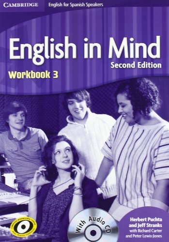 English in Mind for Spanish Speakers 3 Workbook with Audio CD - 9788483234969 por Herbert Puchta