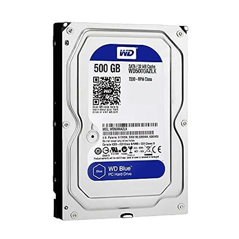 Western Digital Blue 500GB Serial ATA - internal hard drives