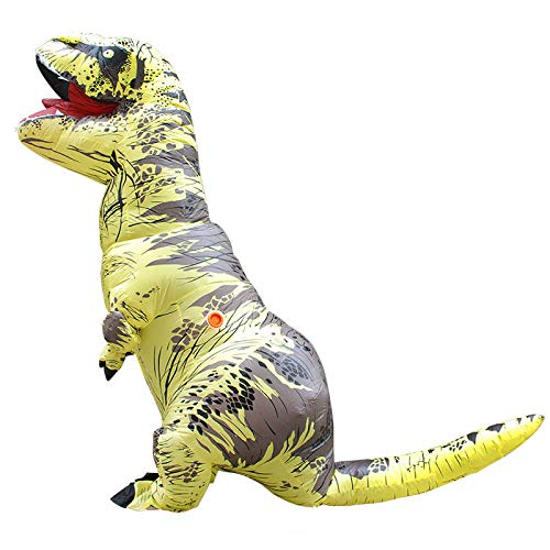 aurier Halloween Karneval Aufblasbares Kostüm Blow Up Kostüm Maskerade Luftanzug,D-150-190cm ()