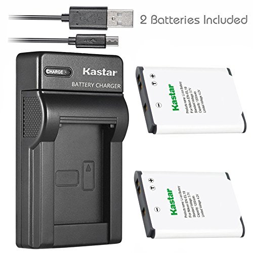 Kastar Battery + Slim USB Charger for Nikon EN-EL19 Coolpix A100 S100 S2750 S2800 S3300 S3400 S3500 S3600 S4200 S4300 S4400 S5200 S5300 S6400 S6500 S6600 S6700 S6800 S6900 S7000 Sony NP-BJ1 DSC-RX0  available at amazon for Rs.2779