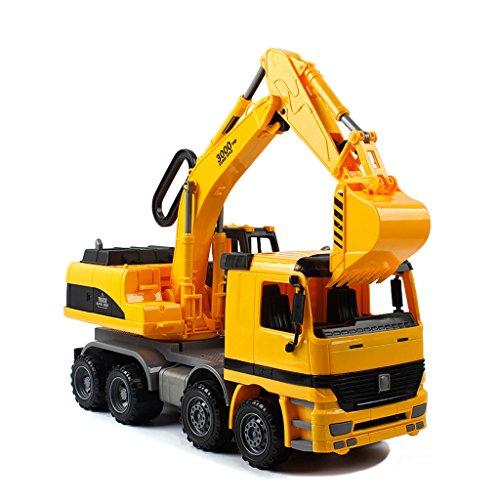 Sinmova Simulation Bagger Inertia Graben Maschinen Modell Spielzeugauto Exkavator Für - Graben Und Dump Lkw,