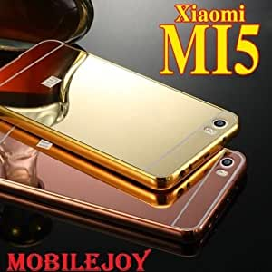 RBSH Metal Bumper Case Cover for Xiaomi Mi5 / Mi 5 - Gold