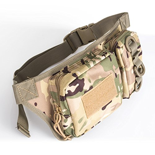 Han-Lucky-Star-Outdoor-Wasserdichte-praktische-Grteltasche-Taktische-Hfttaschen-mit-justierbarem-Band-und-Reiverschlusstaschen