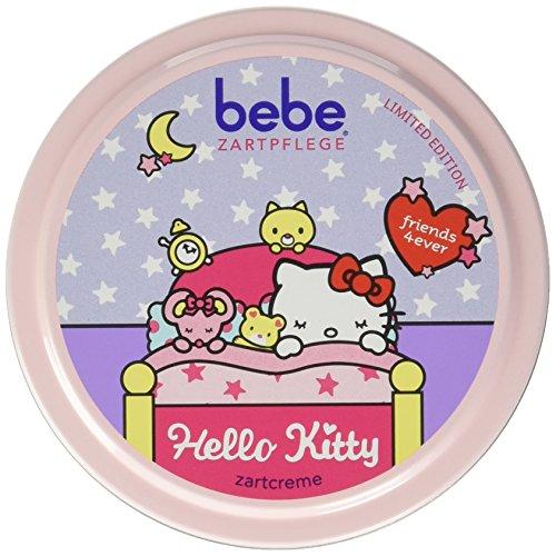 Bebe Zartpflege Zartcreme, Bebe Creme für zarte, junge Haut, Feuchtigkeitsspendende Creme für Kinder, 6er Pack (6 x 150 ml)