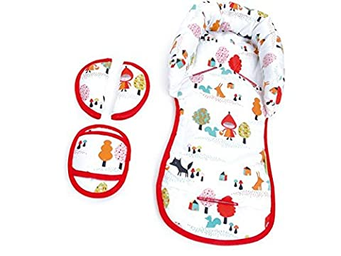 Priebes Emil Sitzverkleinerer mit Gurtpolstern / Universal-Set mit Kopfschutz, Sitzverkleinerer, Gurtpolster und ein Sitzverkleinerungskeil / Universal für jede Babyschale, (Jedes Set)