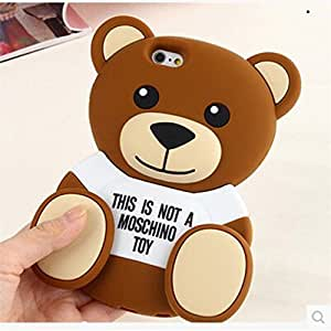 This Is Not A Moschino Toy Silicone Back Case Cover For I Phone 6 4.7 inch