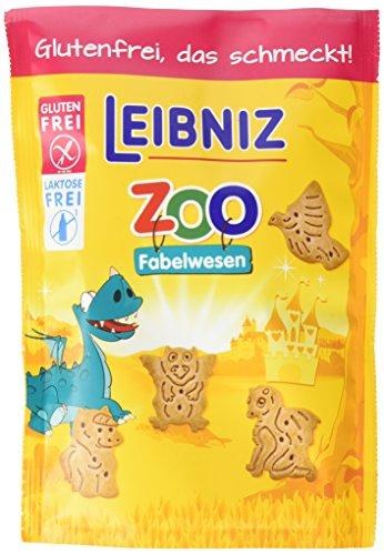 Leibniz Zoo Fabelwesen Gluten und Laktosefrei, 8er Pack (8 x 100 g)