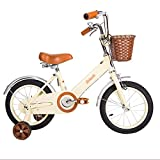 ZHIRONG Bicicleta Para Niños Bicicleta De Niño Y Bicicleta De Niña Con Rueda De Entrenamiento 12 Pulgadas, 14 Pulgadas, 16 Pulgadas, 18 Pulgadas Regalos Para Niños ( Color : A , Tamaño : 18 inch )