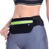 KACOOL Slim Running Ultra Light Bounce Waist Pouch Fitness Workout Belt Pack
