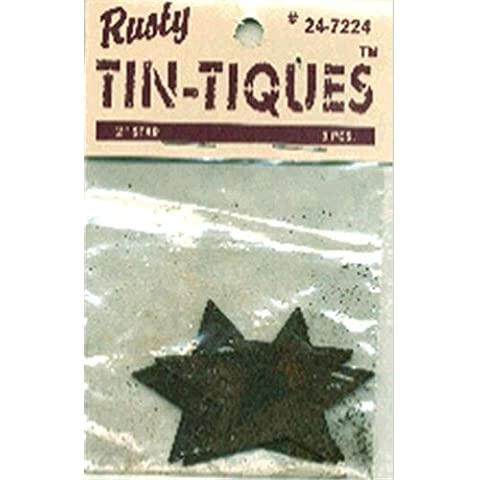 Rusty Tin-Tiques stagno Cut-Outs-Star 2