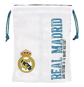 Real Madrid Saquito merienda, equipación 2017/2018 (Safta 811754237), multicolor, 25 cm