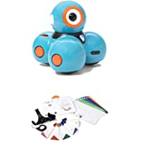 Wonder Workshop Dash Robot Giocattolo Interattivo in Inglese + Sketch Kit per Robot Dash e Cue