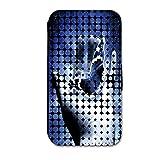 Book Style Flip Cover Case Custodia Rigida Motivo Custodia per Huawei Ascend Y330-auswahl28Design Selezione