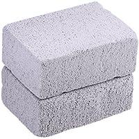 BESTONZON - 2 Piezas de Limpiador de Piedra para Rejilla, Limpiador ecológico de Piedras, para Limpieza de Parrillas o planchas Reutilizables
