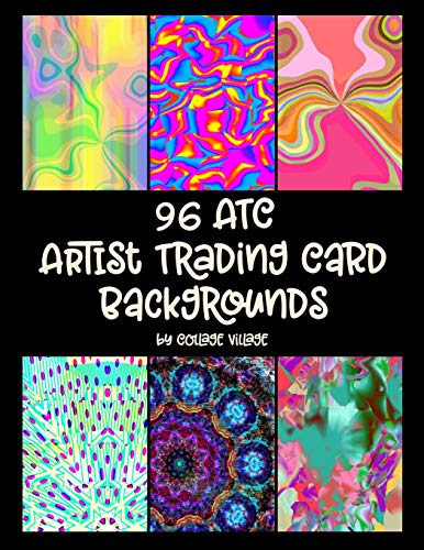 Artist Trading Card (96 ATC Artist Trading Card Backgrounds)
